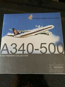 Dragon Wings 1:400 a Singapore Airlines A340-500 MIB *Rare*