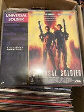 Universal Soldier Laserdisc LD deutsch