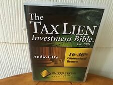 The Tax Lien Investment Bible Real Estate Course - 8 AUDIO CD PACKAGE!