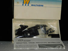 WALTHERS ** BROWNHOIST INDUSTRIAL  * 25 TON CRANE CAR * KIT HO Scale Train**mint