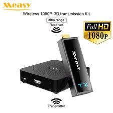 NEW Measy W2H Mini 2 1080P 30M 3D Wireless HDMI Video Transmission Receiver Kit