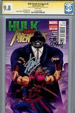 Hulk Smash Avengers 4 CGC 9.8 SS X2 Stan Lee Weeks Iron Man 1 of 2 on census WP