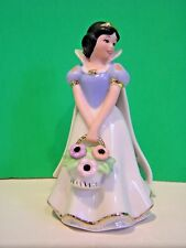 LENOX Disney A BOUQUET FROM SNOW WHITE January sculpture NEW in BOX w/COA