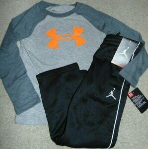 ~NWT Boys UNDER ARMOUR & NIKE JORDAN Outfit! Size 5 Nice:) $71!!