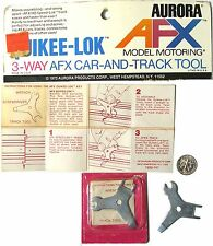 1 Aurora Afx G+ G-Plus Ho Slot Car & Track Quickee-Lok Key Tool 8721 1590-41