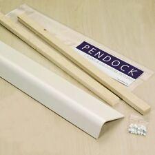 PENDOCK MX75/150 X 825MM 5MM WHITE MELAMINE BOXING PAK