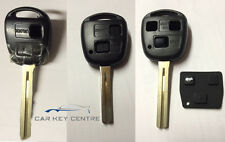 Repair For Lexus 2 or 3 button Remote Key Case Fob IS GS RX LS RX SC 213