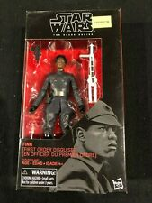 """Finn First Order Disguise Star Wars The Black Series 6"""" Action Figure #51 New"""