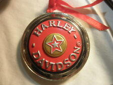 Harley Davidson Christmas Ornament Red Gas Cap Ornament Collection