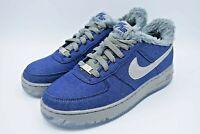 Nike Air Force 1 Low Werewolf GS Denim Blue Grey Youth Size 6.5Y AJ4234-400 NEW