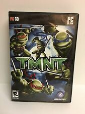 TMNT PC CD UBISOFT CD-ROM GAME 2007 over The Top Ninja Action