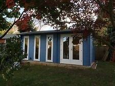 10ft by 19ft Log Cabin, Ideal For Garden Office Or Gym
