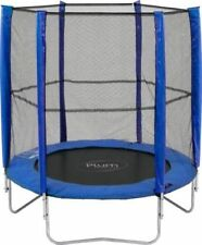 Plum 6ft Trampoline With Enclosure and Safety Pads Blue for Ages 3 2