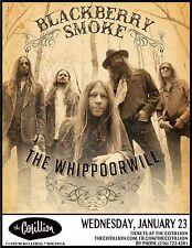 BLACKBERRY SMOKE 2013 WICHITA CONCERT TOUR POSTER - Southern/Country Rock Music