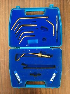 WESCOL COPPER PIPE DISPLAY & CASE - incomplete