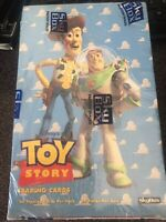 """1995 SKYBOX """"TOY STORY"""" FACTORY SEALED BOX, 24 PACKS 24 CARDS PER PACK RARE!!"""