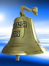 Bell + Hook Titanic Home Home Wall Door Bell Brass from Gescher Sounds Gut