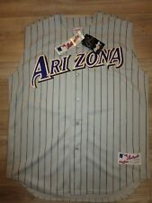 Curt Schilling #38 Arizona Diamondbacks 2001 Rawlings MLB Jersey 48 NEW