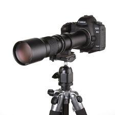 500mm F/8 Super Telephoto Manual Lens for Canon EOS EF 7D 5D Mark II III Camera