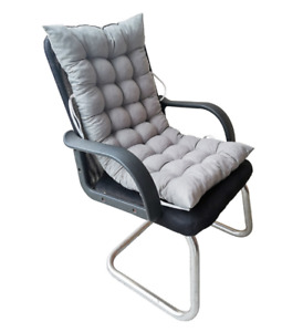 Deck Chair Cushion Comfy Patio Backyard Garden Seat Pad Tufted Mattress Chaise
