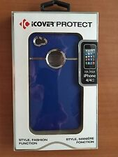 iCOVER PROTECT CASE FOR iPHONE 4 & 4S (Blue)