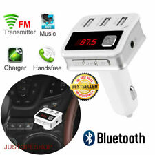 Wireless Bluetooth MP3 Player Car FM Transmitter Radio HandsFree Car USB Charger