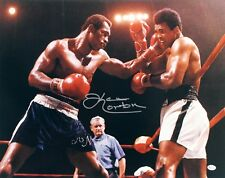 KEN NORTON w/ MUHAMMAD ALI SIGNED AUTOGRAPHED 16x20 BOXING PHOTO ONLINE AUTH