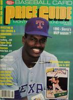 Baseball Card Price Guide Magazine June 1990 - Rickey Henderson - No Label NM