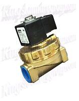 PARKER BRASS WATER VALVE 3//4 INCH 220V FOR UNIMAC WASHERS F381701 F8521801