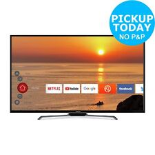 Hitachi 50 Inch 4K Ultra HD HDR Smart WiFi LED TV - Black