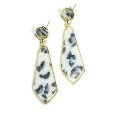Christmas Stud Earrings 925 Sterling Silver Labradorite Gemstone Jewelry #KD-1639