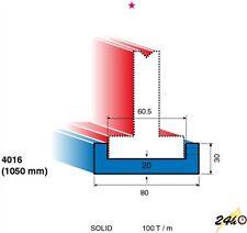 Euram Model 4016 U Channel Bottom Tool Holder for Sheet Metal Press Brake