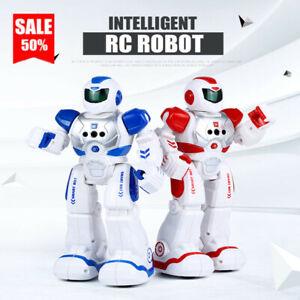 RC Smart Robot Toy Remote Control Gesture Sensor Sing/Walk/Slide For Kids Gifts