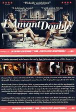 L'AMANT DOUBLE FILM POSTCARDS X 3 - MARINE VACTH JEREMIE RENIER - DOUBLE LOVER