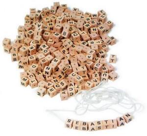 Buchstabenwürfel für Kinder Spielzeug Motorik Feinmotorik kreativ Vorschule