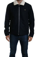 "Farah Vintage ""otley"" Sherpa Jacket True Navy Mod-skinhead-casual XL"