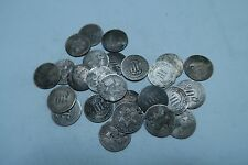 (2) Different SILVER Three Cent Coin (3 Cent) Lot // WITH DATE! // 2 Coins