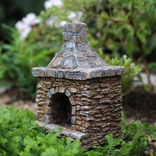 Miniature Dollhouse FAIRY GARDEN Accessories Outdoor Chimney Fireplace - NEW
