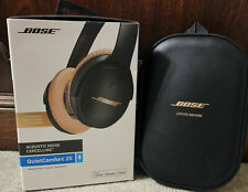 **Bose QuietComfort QC25 LIMITED EDITION GOLD EAR CUPS*** QC 25 ANC Over Ear