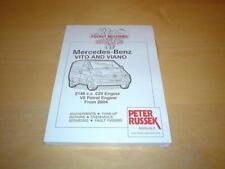 MERCEDES VITO W639 V CLASS 109 111 115 CDI 119 122 123 Owners Manual Handbook