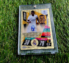 Topps Match Attax Chrome Champions League 20/21 Superfractor 1/1 Real Madrid