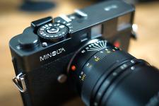Minolta CLE 35mm Rangefinder Leica M-Mount Film Camera Body Only