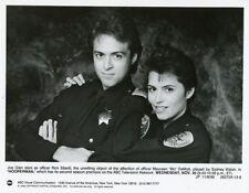 JOE GIAN SYDNEY WALSH POLICE OFFICERS HOOPERMAN ORIGINAL 1988 ABC TV PHOTO