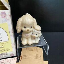 1988 Precious Moments Puppy Love Porcelain Figurine 520764 Dog Romance