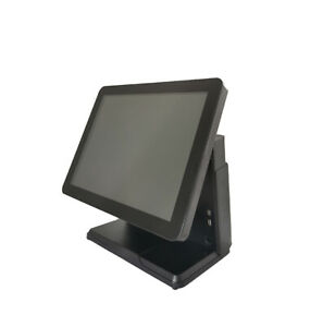 15 Inch Singl Screens Black Windows 7 POS Machine i5 CPU & 4G RAM&32G Disk