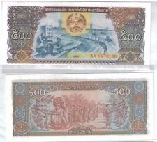 Laos 500kip  Banknote UNC   1988