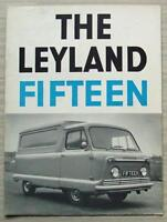 LEYLAND FIFTEEN LIGHT COMMERCIALS Sales Brochure Aug 1963 #349/863/L/25M