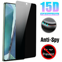 Privacy Anti-Spy Tempered Glass Screen Protector For Samsung Galaxy S21 Ultra 5G