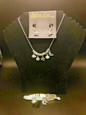 Cookie Lee Genuine Sea Neckless, Bracelet & Earrings New with Tag Really Cute!!