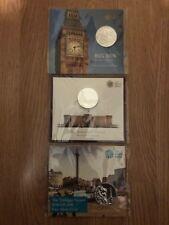 Big Ben, Buckingham Palace, The Trafalgar Square UK £100 Coin Set (Brand New)